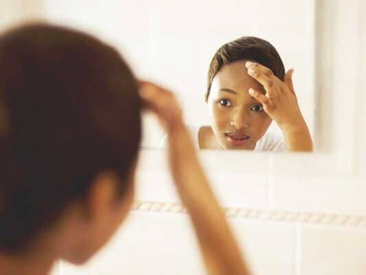 forehead acne treatment